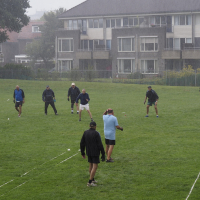 Zomerstorm raast over Sonnenborgh